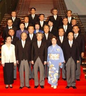 10_Luke_Fig.5_Primary Koizumi Cabinet First-Order Reshuffle 30th September 2002