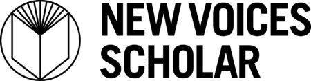 New Voices Scholar Logo_horizontal_MONO
